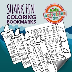 Shark Fin Bookmarks
