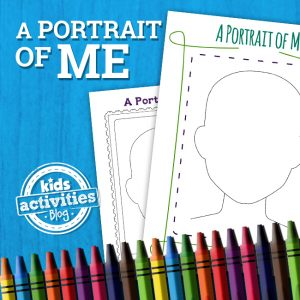 Portrait of Me Printable Activity