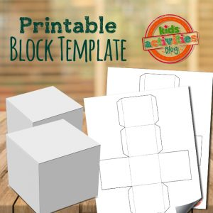 Printable Block Template for Kids