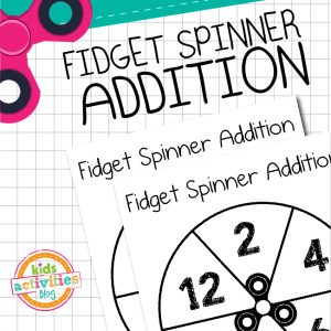 Fidget Spinner Addition Game
