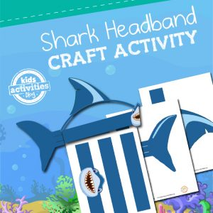 SHARK HEADBAND CRAFT ACTIVITY