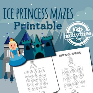 Ice Princess Mazes
