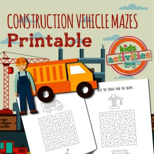Construction Vehicle Mazes