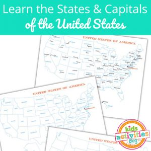 States and Capitals Practice