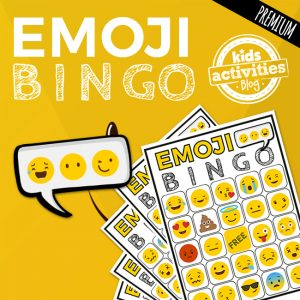 Emoji BINGO Printable Game