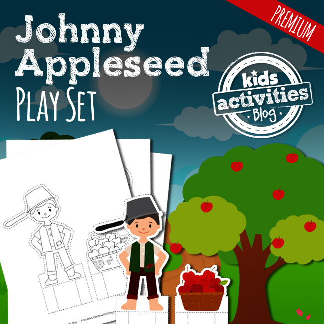 Johnny Appleseed Printable Play Set