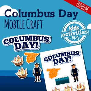 Columbus Day Mobile Craft