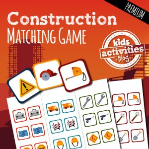 Construction Memory Matching Game