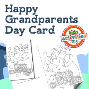 Printable Grandparents Day Card