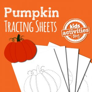 Pumpkin Tracing Pages