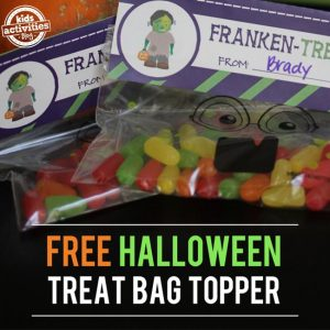 Halloween Treat Bag Topper Printable