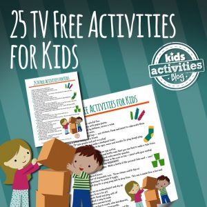 25 TV Free Activities for Kids