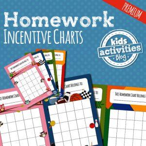Homework Incentive Charts