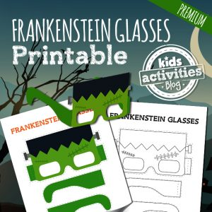 Frankenstein Halloween Glasses