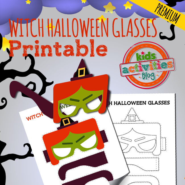 Halloween Witch Glasses