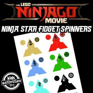 LEGO NINJAGO Fidget Spinners Printables