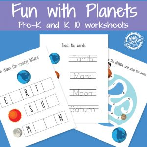 Learning with Planets Printables