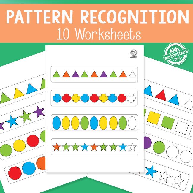 Pattern Recognition Worksheets