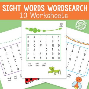Sight Word Word Search Puzzles