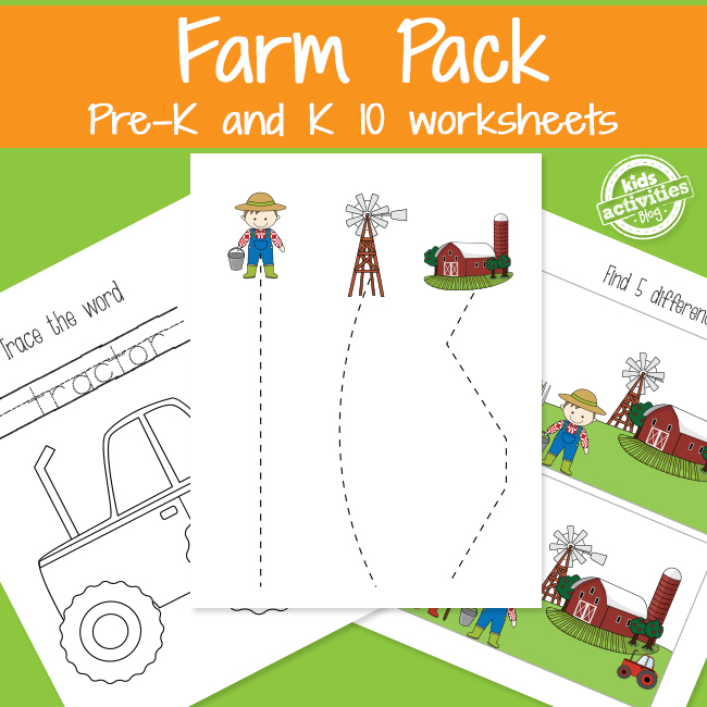 Life on the Farm Activity Worksheets