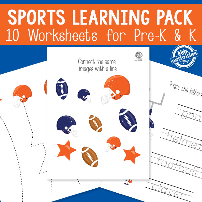 Sports Activity Worksheets