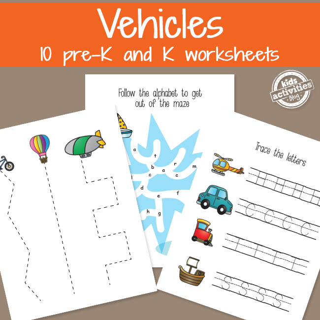 Transportation Vehicles Learning Activities