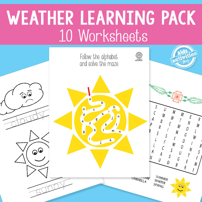 Printable Weather Learning Pack