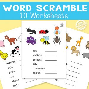 Vocabulary Word Scrambles