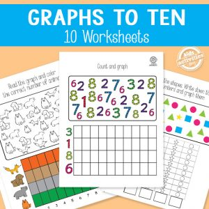 Math Worksheets: Graphs to 10