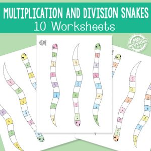 Multiplication and Division Snakes