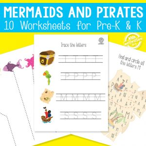 Mermaids and Pirates Learning Activities
