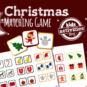 Christmas Matching Game