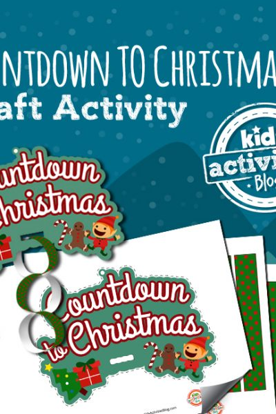 Countdown to Christmas Craft Activity