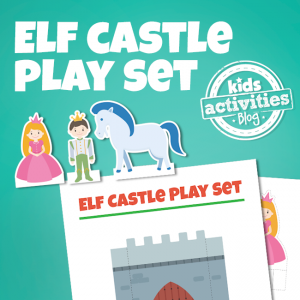 Elf on the Shelf Castle Play Set