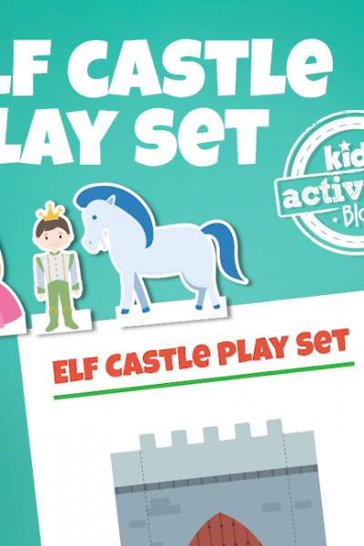 Elf on the Shelf Castle Play Set