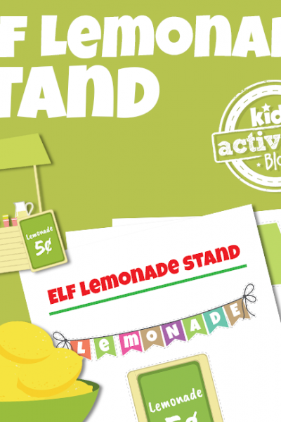 Elf Lemonade Stand