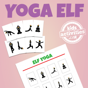 Elf on the Shelf: Yoga Elf