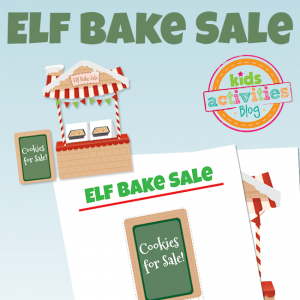 Elf on the Shelf: Bake Sale Table