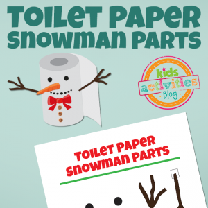 Elf on the Shelf: Toilet Paper Snowman