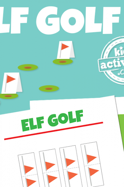 Elf on the Shelf Miniature Golf