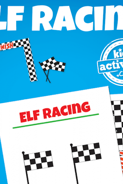 Elf on the Shelf Elfie 500 Race