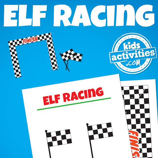 Elf on the Shelf Elfie 500 Race