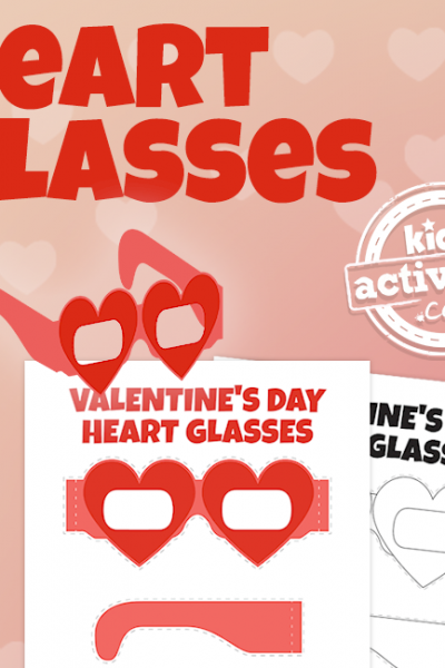 Valentine's Day Heart Glasses