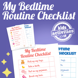 Bedtime Routine Printable