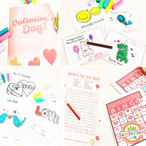 Valentine's Day Activity Packet