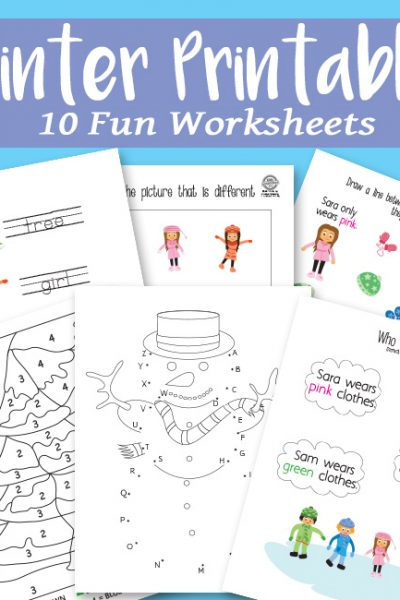 Winter Printables Activity Pack