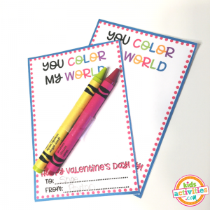 Printable Valentine's Day Cards for Kids