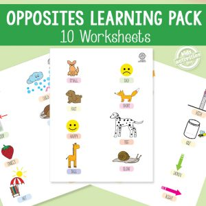 Opposites Learning Pack
