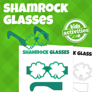 St. Patrick's Day Shamrock Glasses