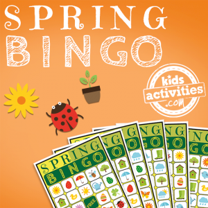 Spring BINGO Game Printable